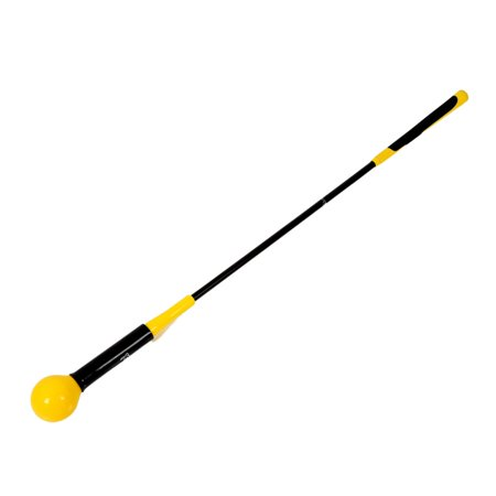 JEFFENLY Golf Swing Trainer Equipment & Training Aids for Tempo & Speed Practice Flex Tool Whip Club Weighted Warm up Stick & Wrist Aid Impact Power Weight Plane Guide, 40 (Super Flex Whip)
