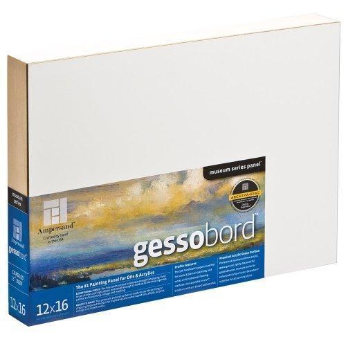 "Ampersand Gessobord Panel 1.5"" Cradle 24X36"""