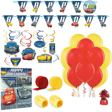 Disney Cars Room Decoration Kit](Car Theme Decorations)