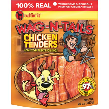 Ruffin' it Wag-N-Tails Tenders Dog Treat