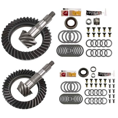 4.88 RING AND PINION GEARS & INSTALL KIT PACKAGE - DANA 44 JK RUBICON FRONT REAR
