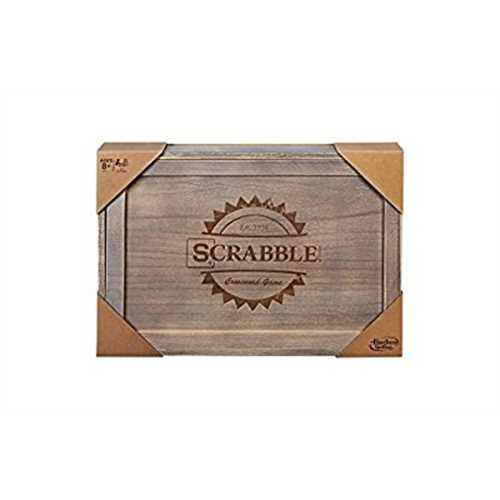 Scrabble Rustic Series Board Game~ by Scrabble