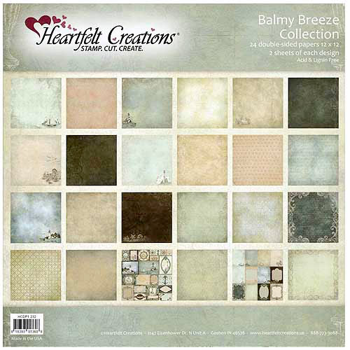 "Heartfelt Creations Double-Sided Paper Collection, 12"" x 12"""
