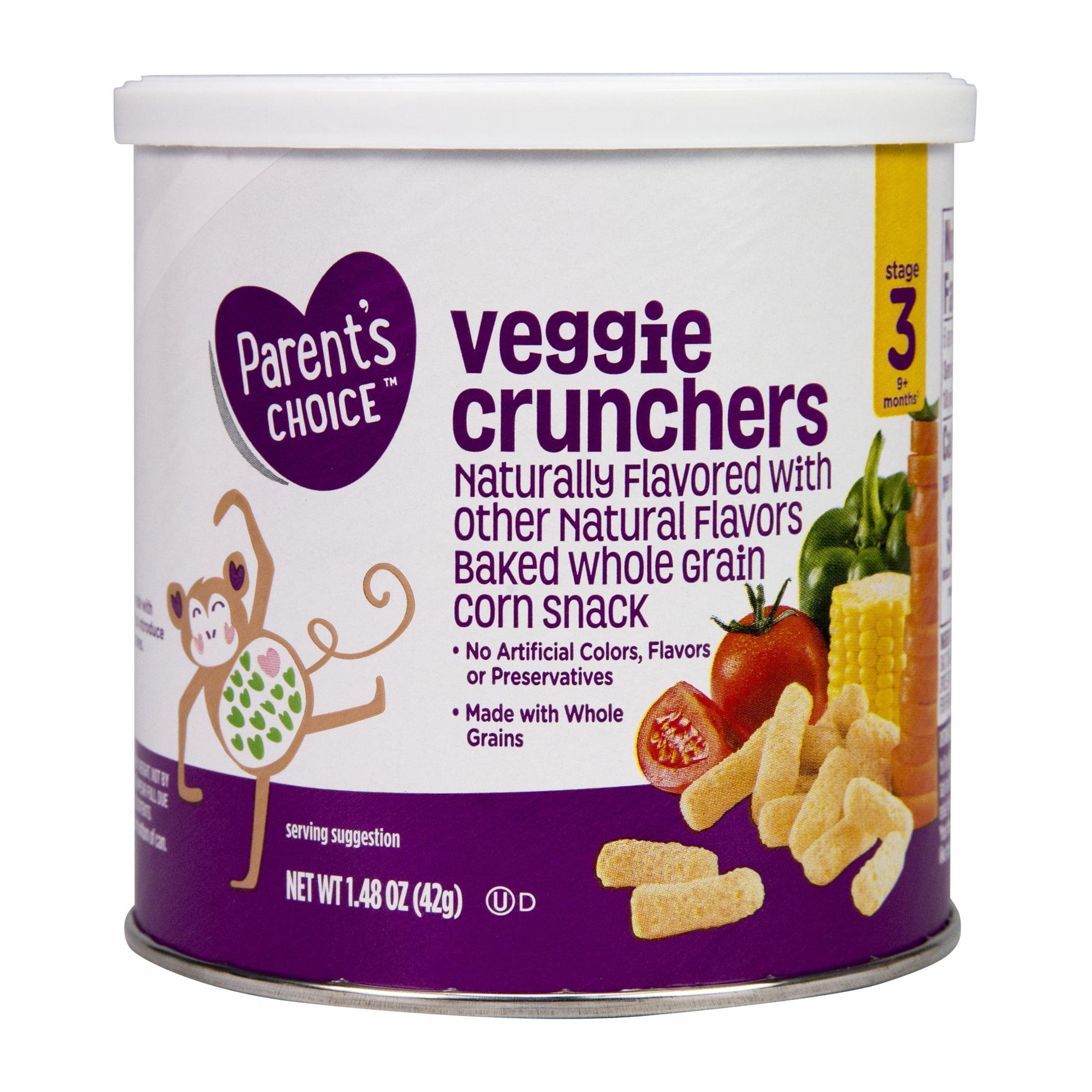 Parent's Choice Little Munchers, Veggie, Stage 3, 1.48 oz