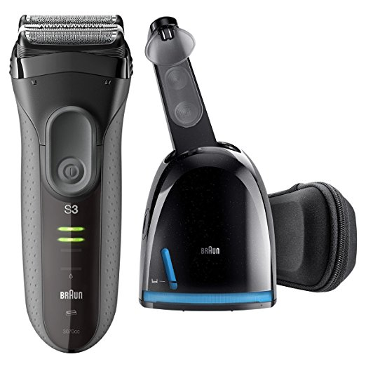 Braun All-in-One Advanced Gentle MicroComb Wet & Dry Rechargeable Electric Shaver & Beard Trimmer For Sensitive Skin