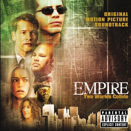 Original score composed by Ruben Blades.Serving as the musical background for this tale of a drug dealer from the South Bronx trying to go legit before getting double-crossed by an investment banker, EMPIRE is a melange of musical styles that leans heavily on elements of hip-hop, R&B, and Latin music. Although cast members Fat Joe and Naughty By Nature's Treach don't contribute any music, there's more than enough hard-core rap to go around. Representing the thuggish elements of this film are the gruff-voiced DMX (