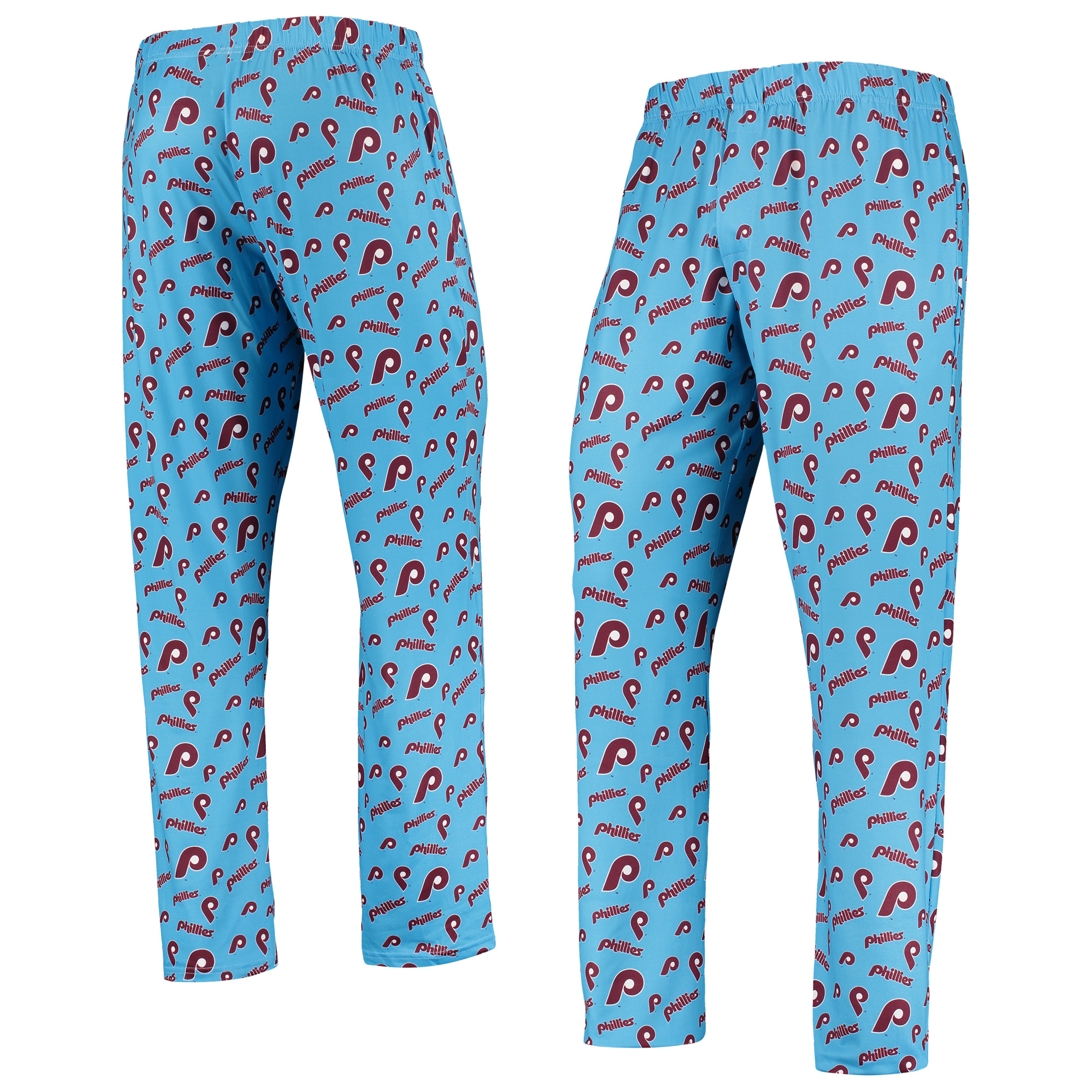 Philadelphia Phillies Kids Major League Baseball long Pajama Pants