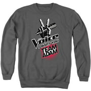The Voice Team Adam Mens Crewneck Sweatshirt