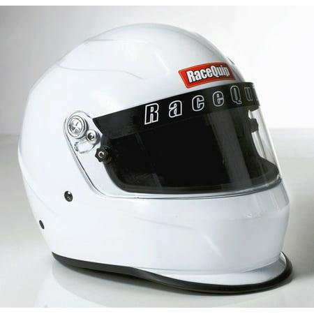 RACEQUIP Medium Gloss White PRO15 Full Face Helmet P/N 273113 Glory Full Face Helmet