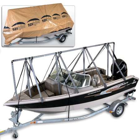 Navigloo 14 to 18 ft storage system fishing runabout with for Walmart fishing boats