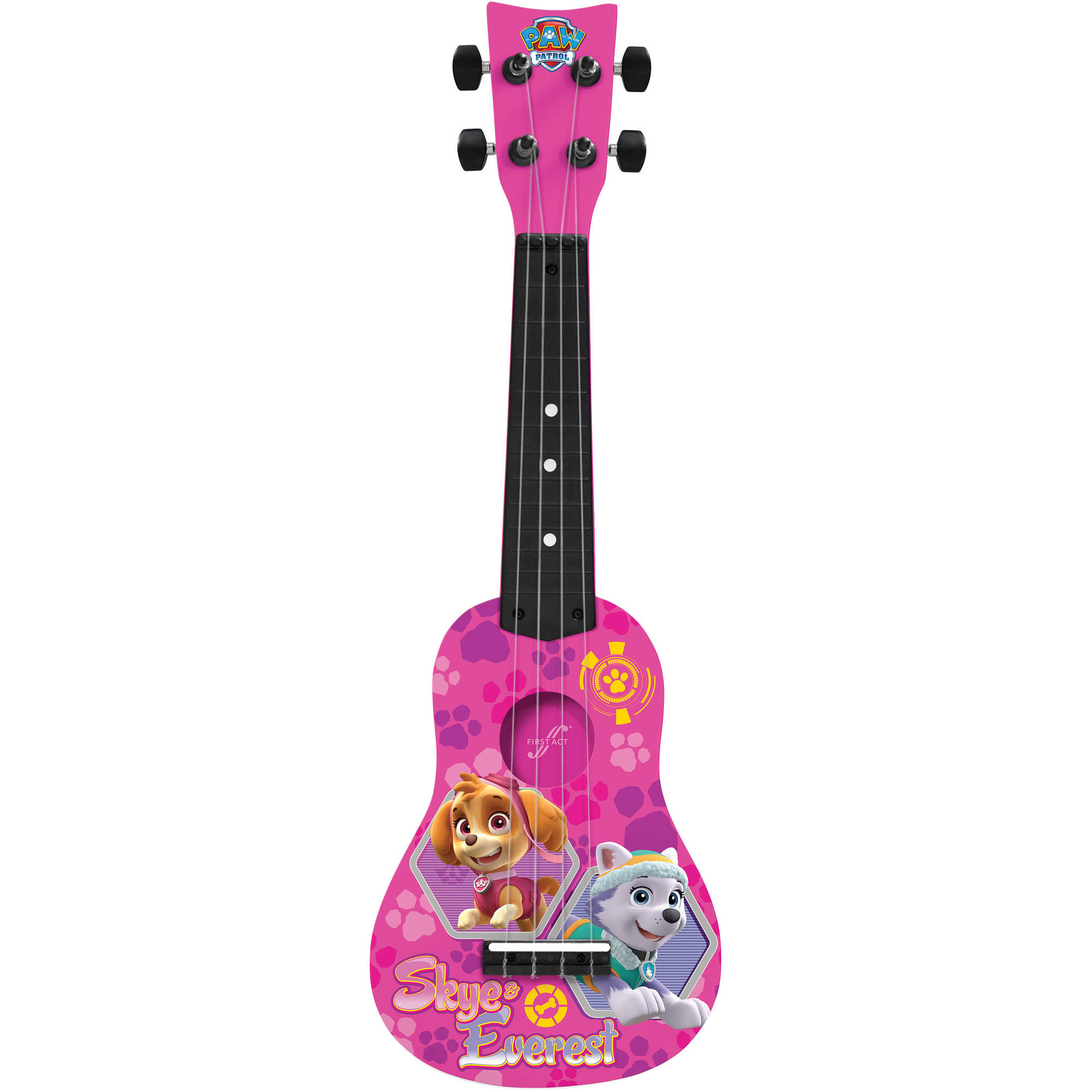 First Act Nickelodeon Paw Patrol Mini Guitar PP287, Pink by FIRST ACT INC.