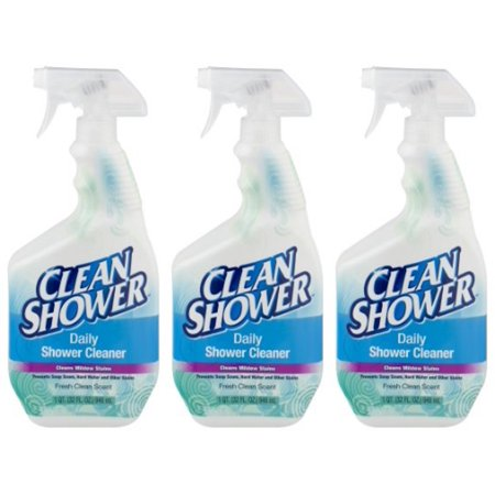 (3 Pack) Clean Shower Fresh Clean Scent Daily Shower Cleaner, 1