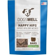 Dogswell Happy Hips Jerky Bars, Chicken and Veggies, 32 oz