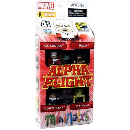 Marvel Alpha Flight Minimates Alpha Flight Exclusive Minifigure 4-Pack