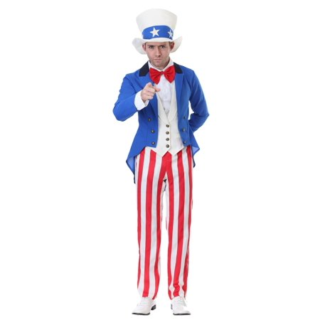 Female Uncle Sam Costume (Classic Uncle Sam Costume)