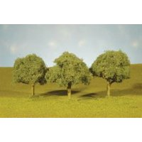 "Bachmann-SceneScapes(TM) Layout-Ready Trees -- Oak Trees 2-1/4 - 2-1/2"" Tall pkg"