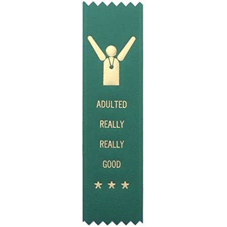 Adulting FTW Adulting Really Really Good Prize Award Ribbon on Gift Card …](Shipping Coupons)