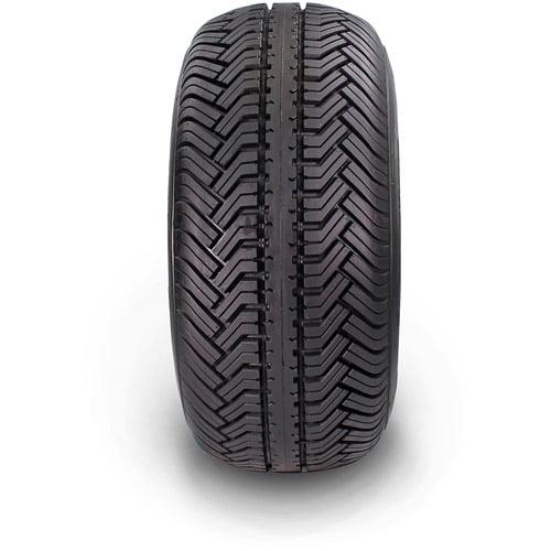 "Greensaver Plus 18"" x 8.50""-8 4-Ply Golf Cart Tire Tire and Wheel 4 Lug, Almond"