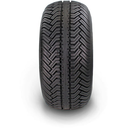 Greenball Greensaver Plus 18X8.50-8 4 PR Golf Cart Tire and Wheel 4 lug Almond Color (Best Golf Cart Tires)