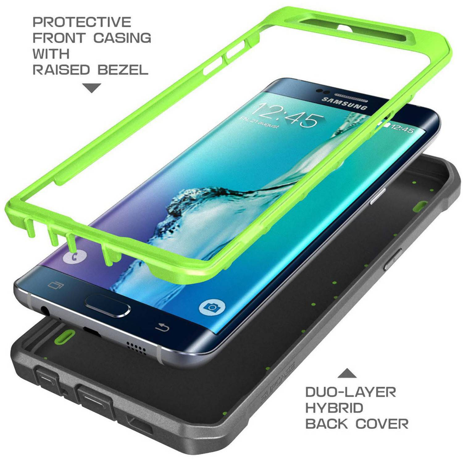 detailed pictures e9911 67ac6 SUPCASE Samsung Galaxy S6 edge+ Case