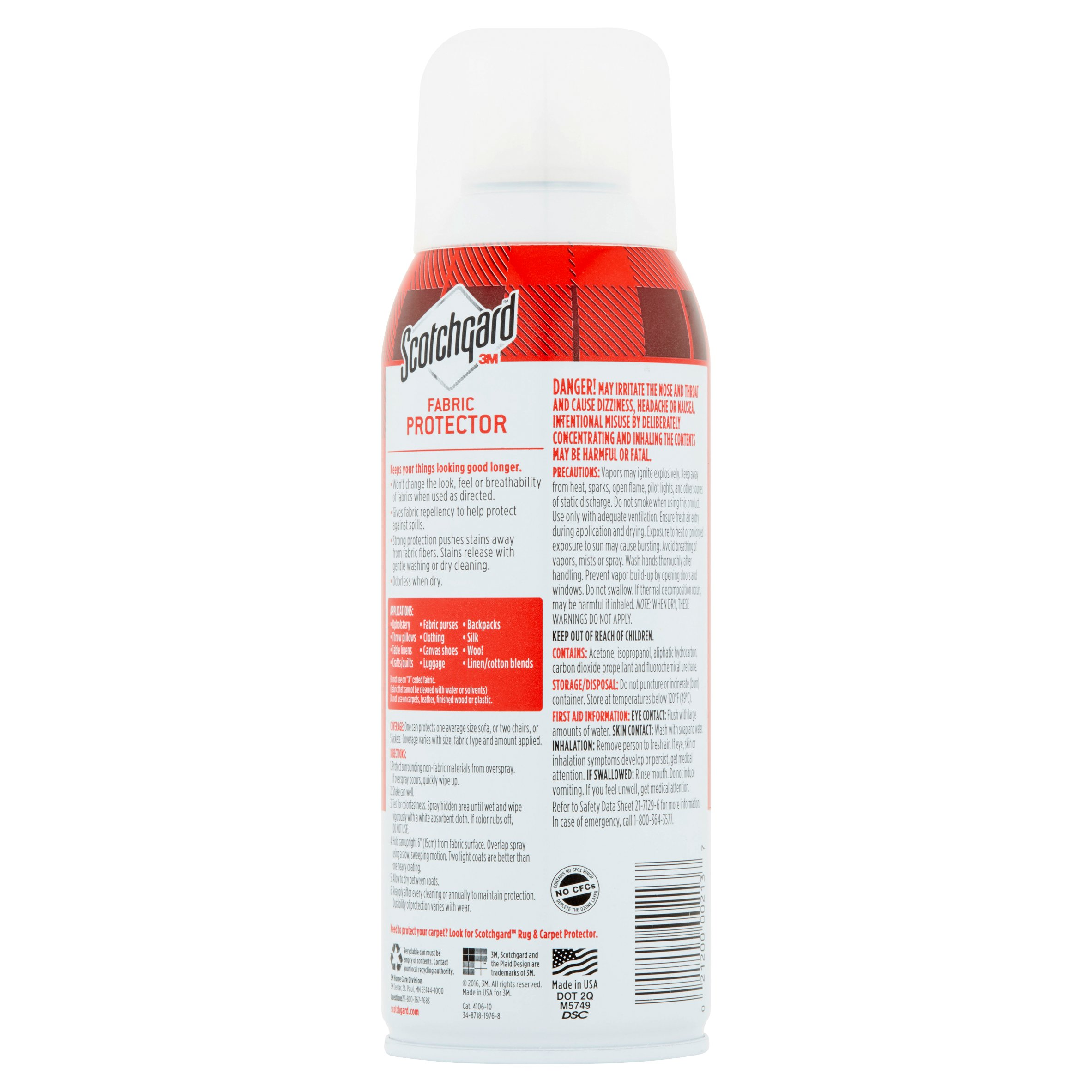 Scotchgard Fabric And Upholstery Protective Spray 10 5 Oz 1 Can