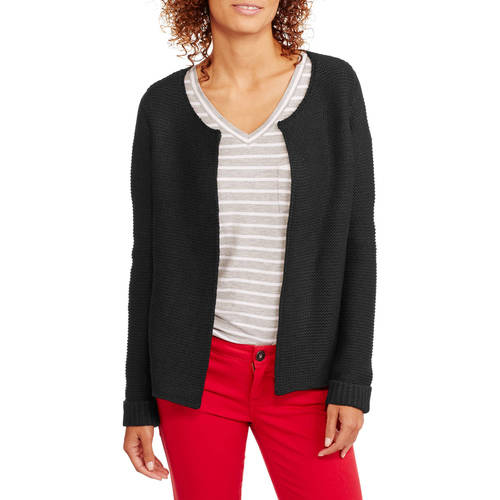 Faded Glory Women's Fashion Sweater Jacket
