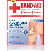 Band-Aid All-In-One Adhesive Gauze Pad