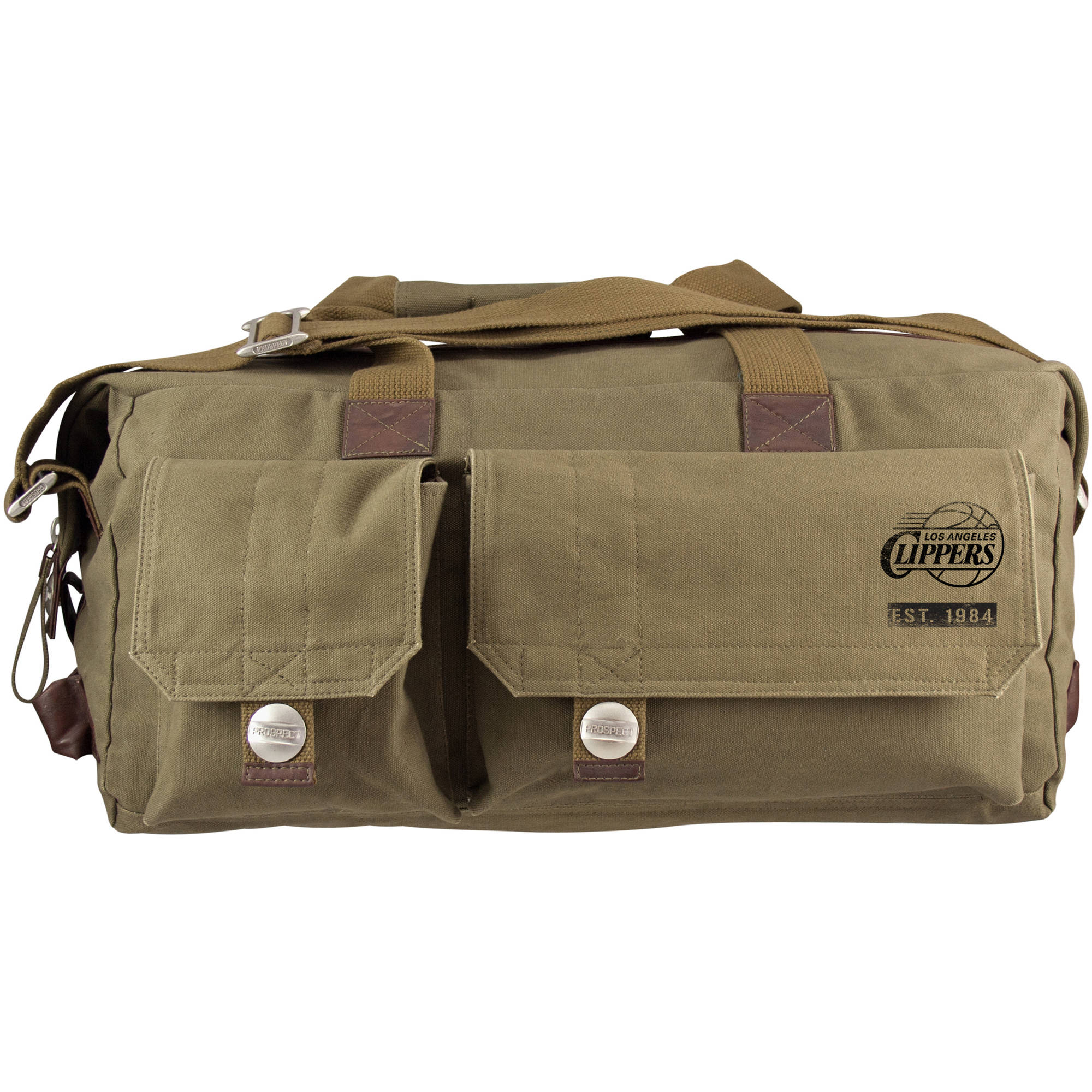 Little Earth - NBA Large Prospect Weekender Bag, Los Angeles Clippers