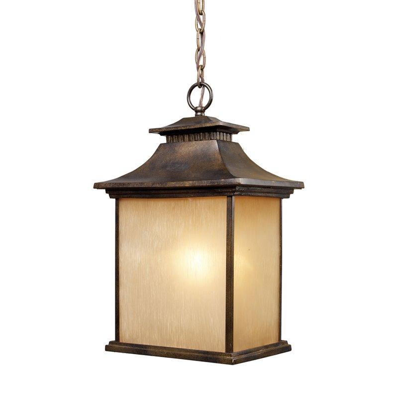 ELK Lighting San Gabriel 42183/1 1-Light Outdoor Pendant