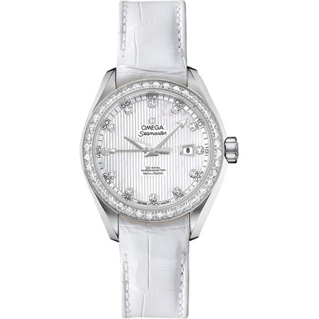 Women's Omega Seamaster Aqua Terra Diamond Watch 231.18.34.20.55.001