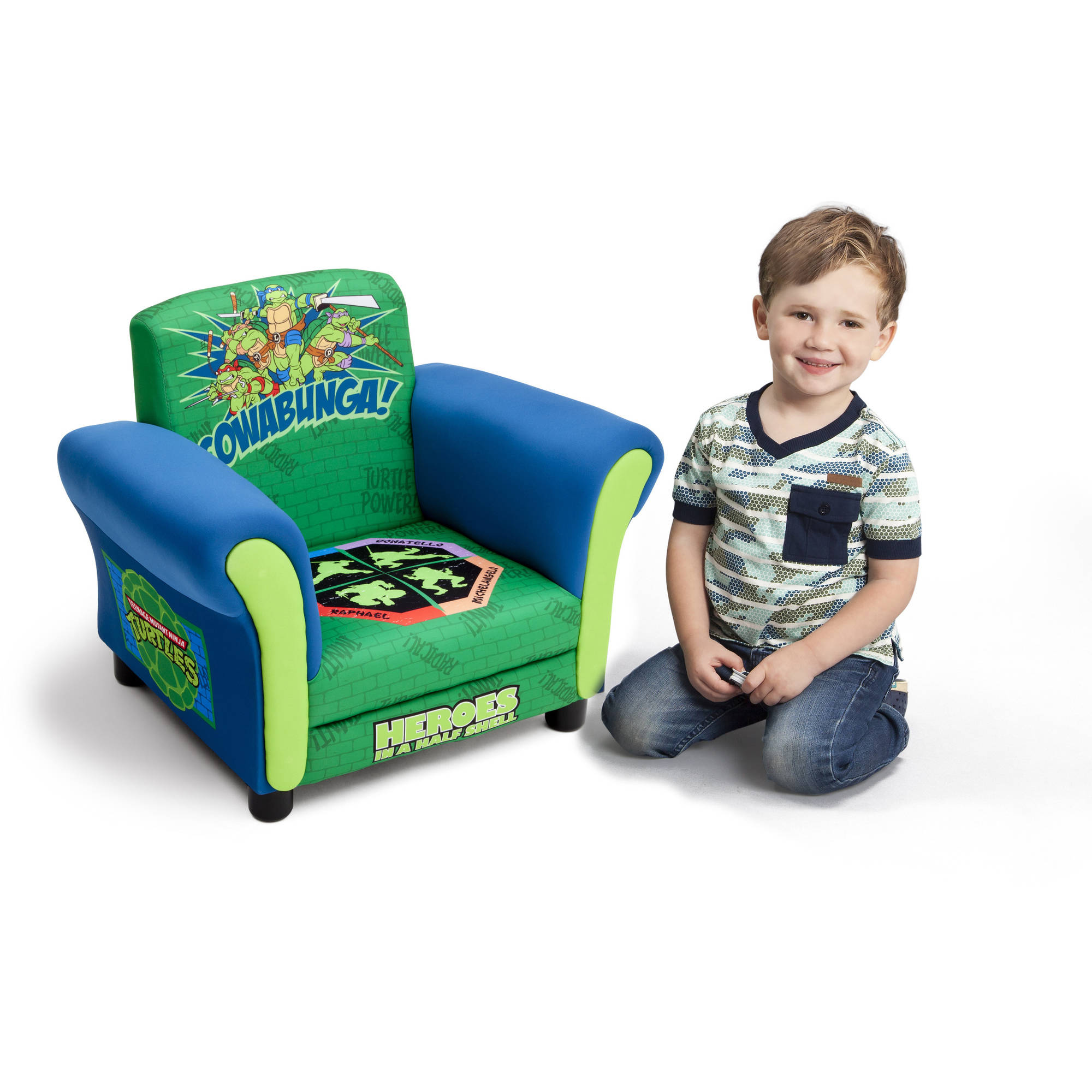 Delta Children's Products Nickelodeon Ninja Turtle Upholstered Chair