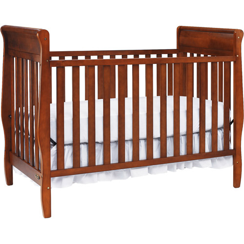 Graco - Sarah Classic 4-in-1 Convertible Fixed-Side Crib , (Choose Your Finish)