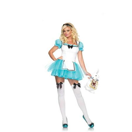 Leg Avenue Enchanted Alice Adult Womens Costume - Leg Avenue Alice Costume
