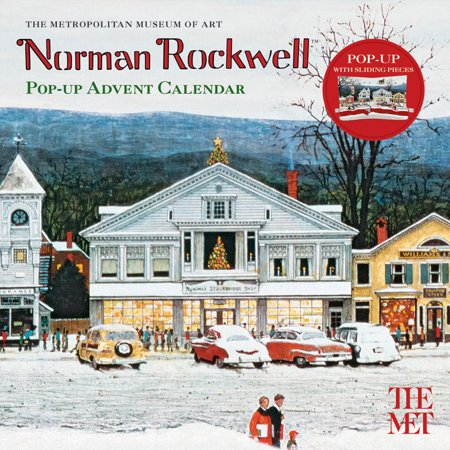 Norman Rockwell Pop-Up Advent Calendar (Other) - Advent Calendar Kids