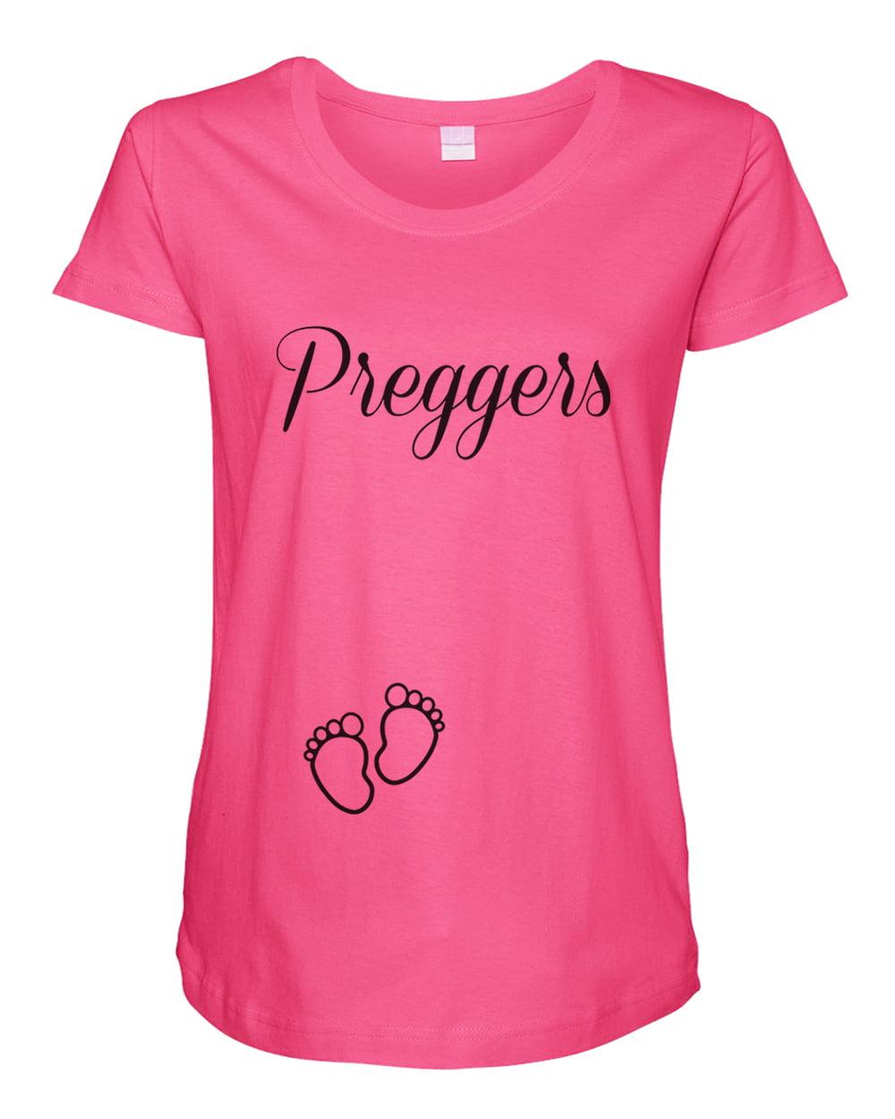 Funny Threadz Womens Pregnant Tank Top Preggers Maternity Clothes For Young Moms Xx Large Hot Pink Walmart Com Walmart Com