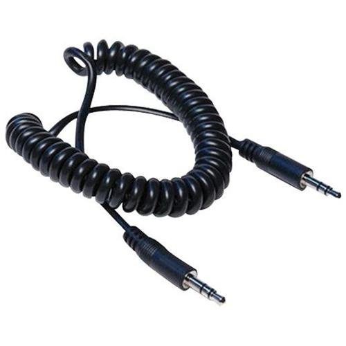 Hosa CMM-105C Cable 3.5mm TRS to Same Coiled 5ft
