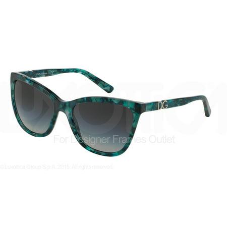 DOLCE & GABBANA Sunglasses DG 4193M 29118G Green Marble (Dolce Gabbana Sunglasses Flower)