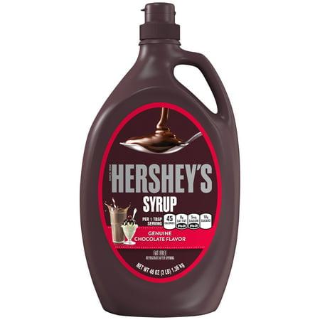 Caramel Dessert Sauce - Hershey's, Milk Chocolate Syrup, 48 Oz