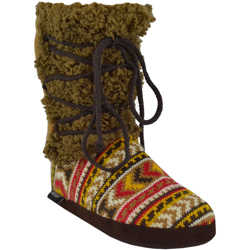 MUK LUKS Women's Lace Up Mid Boot