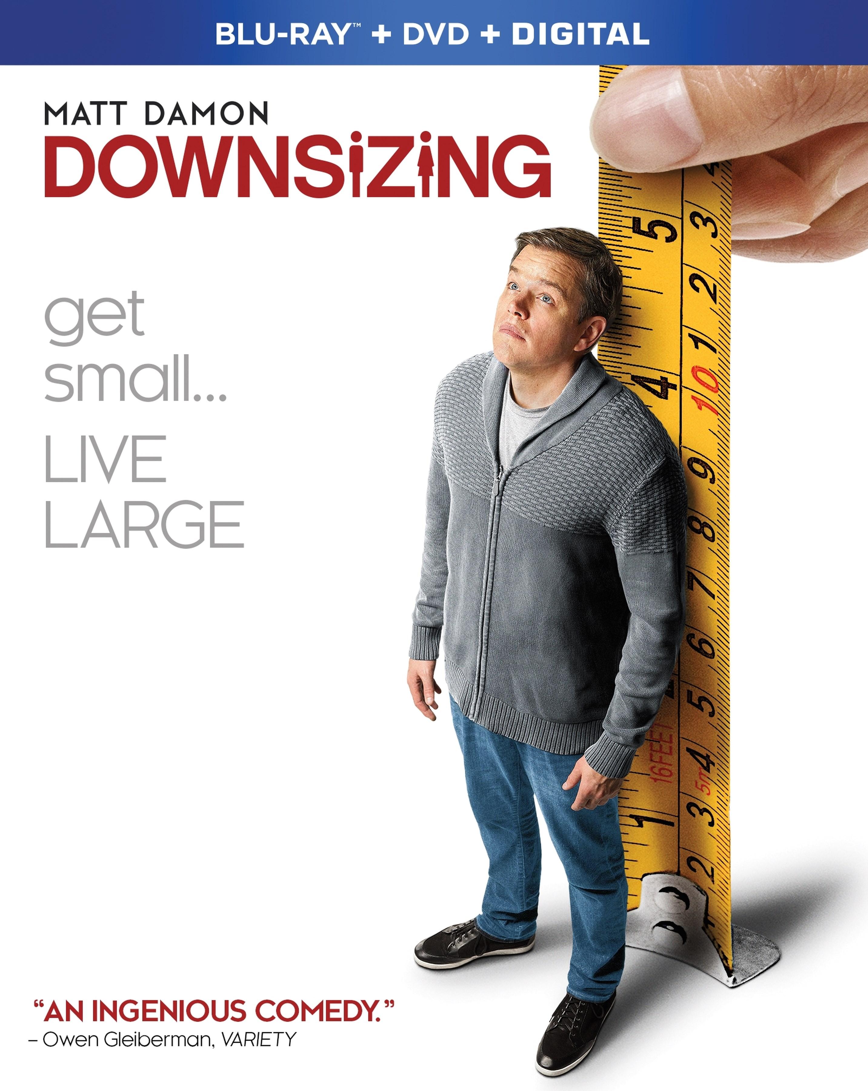 Downsizing (Blu-ray + DVD + Digital) by Universal Studios Home Entert.