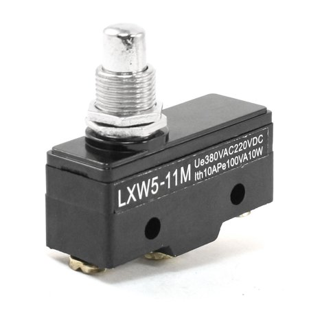 LXW5-11M Panel Mount SPDT NO NC Parallel Button Plunger Basic Limit Switch (Parallel Switch Box)