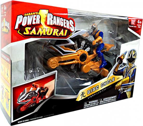 Power Rangers Samurai Disc Cycle Action Figure [Light] by Bandai