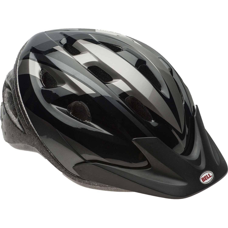 Bell Sports Rig Silver Titanium Fang Adult Helmet