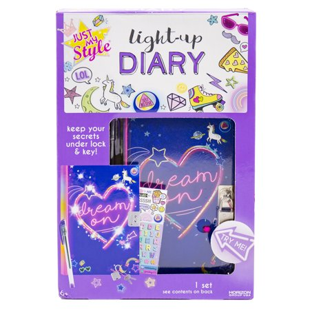 Just My Style Light-Up Diary Kit by Horizon Group USA](Arts And Crafts Toys)