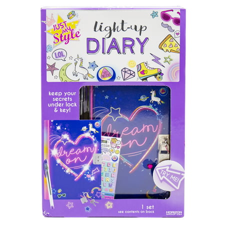 Just My Style Light-Up Diary