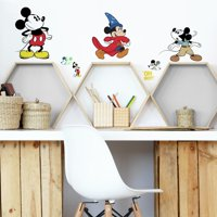 Mickey Mouse The True Original 90Th Anniversary Peel and Stick Wall Decals