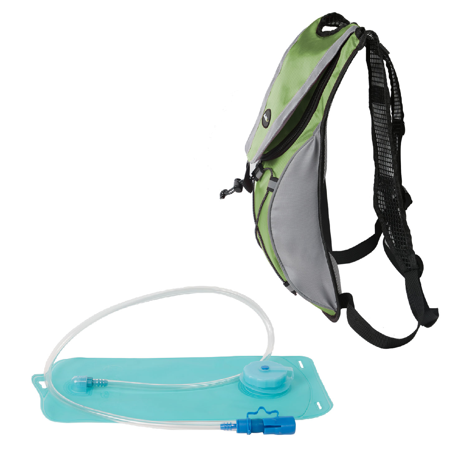 iMounTEK  Hydration Water Backpack with 2L Hydration Bladder (Green)