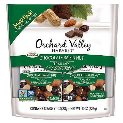 Orchard Valley Harvest Chocolate Raisin Nut Trail Mix 8-1 oz Bags