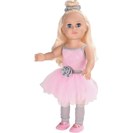 "My Life As 18"" Poseable Ballerina Doll, Blonde Hair"