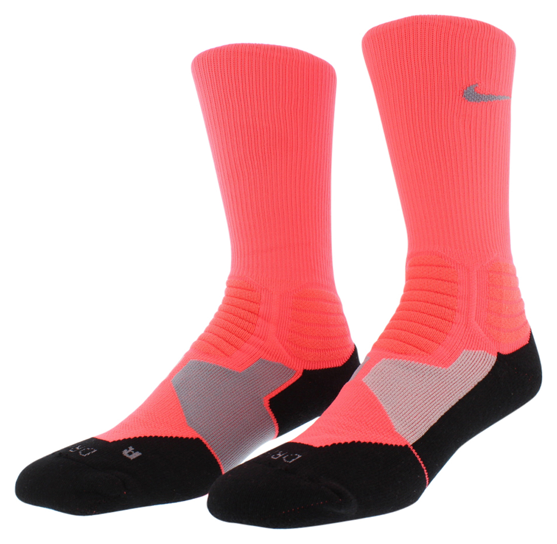 Nike Mens Hyper Elite Basketball Crew Socks Black
